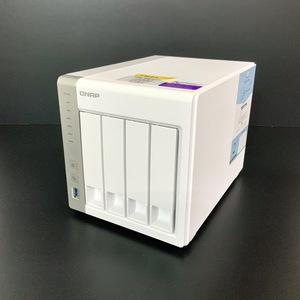 【ジャンク】 QNAP TS-431P 4ベイ HDDNAS - Alpine AL212 1.7GHz / 1GB / HDD無し 2019年製 ファーム最新 分解クリーニング済み 【J432】