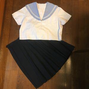 大きいサイズ 制服 セーラー服 夏上服
