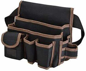 ★送料無料☆ b23 ★色:型B★ ウエストバッグ ツールバッグ [えみり] ベルト付き 多ポケット 工具収納 調節可能 工具袋 大容量 多機能