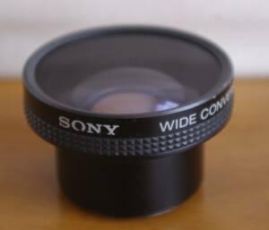 【中古】ソニー ワイコン SONY WIDE CONVERSION LENS X0.6 VCL-0637 《069》