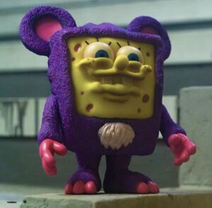 UNBOX INDUSTRIES MILKBOYTOYS The IT BEAR BOB 新品 THE IT BEAR BOB V2 Purple Edition