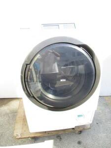 ☆Panasonic パナソニック NA-VX8500L-W 洗濯機 ドラム式 10.0kg 左開き 2015年製 1215Z ※ ☆