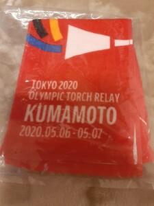 コカ コーラ 東京オリンピック 2020 聖火リレー マフラー タオル 熊本 マフラータオル