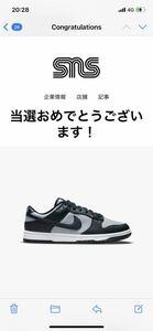 1円スタート!NIKE DUNK LOW CHAMPIONSHIP GREY27.0