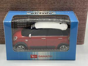 即決有★プルバックカー ダイハツ キャスト CAST アクティバ 赤x白★ミニカー