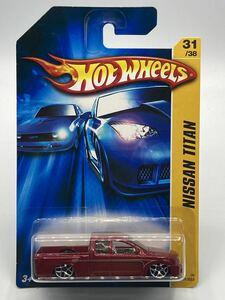 即決有★HW hotwheels ホットウィール ニッサン 日産 TITAN タイタン 2006 赤★ミニカー ②