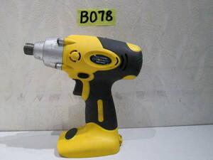 *B078* インパクトドライバーIDR-10KD /DC12.0v動作未確認中古#*