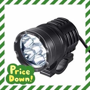 36w(1個セット) ledフォグランプ バイク補助灯 バイクヘッドライト オートバイ 12V/24V対応 ワークライト LED