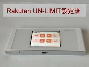 モバイルルーター W05 Rakuten UN-LIMIT設定済