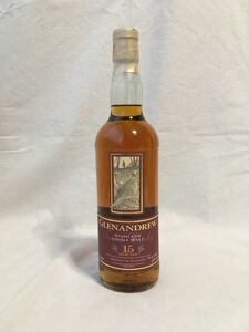 ハイランド ウイスキー グレンアンドリュー15年 700ml 43% 木箱付き 終売品