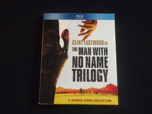 廃盤 3枚組 Blu-ray Man with No Name Trilogy クリント・イーストウッド ドル箱三部作 荒野の用心棒 夕陽のガンマン 続・夕陽のガンマン