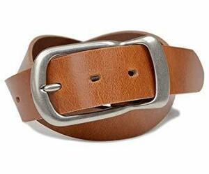 特別価格!キャラメルブラウン 37mm幅 ベルト メンズ レディース カジュアル 日本製 シンプル 丈夫な 牛革 一枚革 R37W