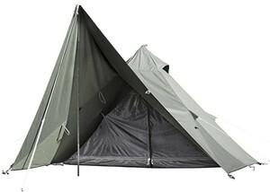 ソロ ティピー1 TC BDK-75TC【1人用】カーキ色 ワンポール テント