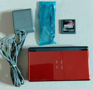 Nintendo DS Lite クリムゾン ブラック  ニンテンドー  任天堂 おまけ付