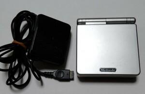 ゲームボーイアドバンスSP  プラチナシルバー  任天堂  GBA  ACアダプター  充電器有  おまけ付 星のカービィ 夢の泉