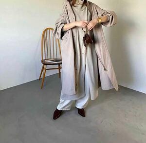 コート モッズコート ロング丈スプリングコート