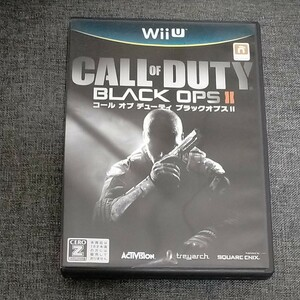 WiiU コール オブ デューティ ブラックオプスII CALL OF DUTY BLACK OPS Ⅱ