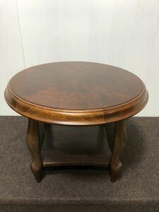 DI331)maruni マルニ 丸テーブル サイドテーブル ラウンドテーブル センターテーブル