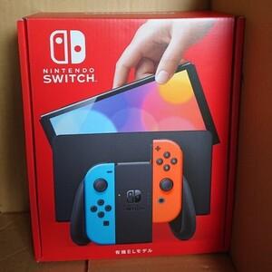 Nintendo Switch ニンテンドースイッチ本体 ネオンブルー ネオンレッド 有機ELモデル Switch本体 任天堂