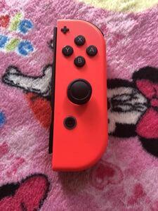 ニンテンドースイッチ ジョイコン 美品 動作不良 Nintendo Switch Joy-Con ネオンレッド 任天堂Switch 任天堂