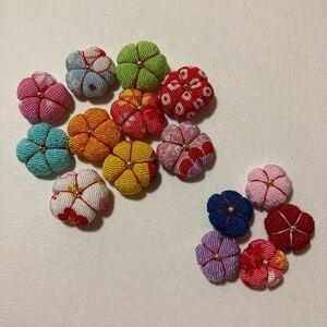 ハンドメイド 和小物 素材 梅の花