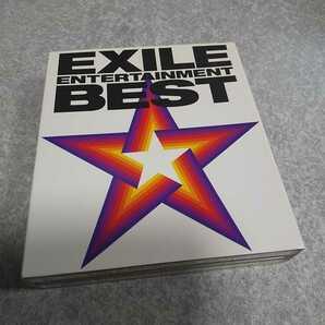 EXILE【ENTERTAINMENT BEST】CD1枚・DVD2枚 歌詞カードあり 返金保証あり