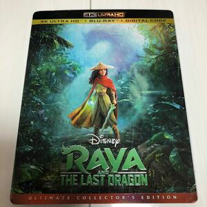Raya(4K UHD/Blu-ray) ラーヤと龍の王国 (2021) 中古