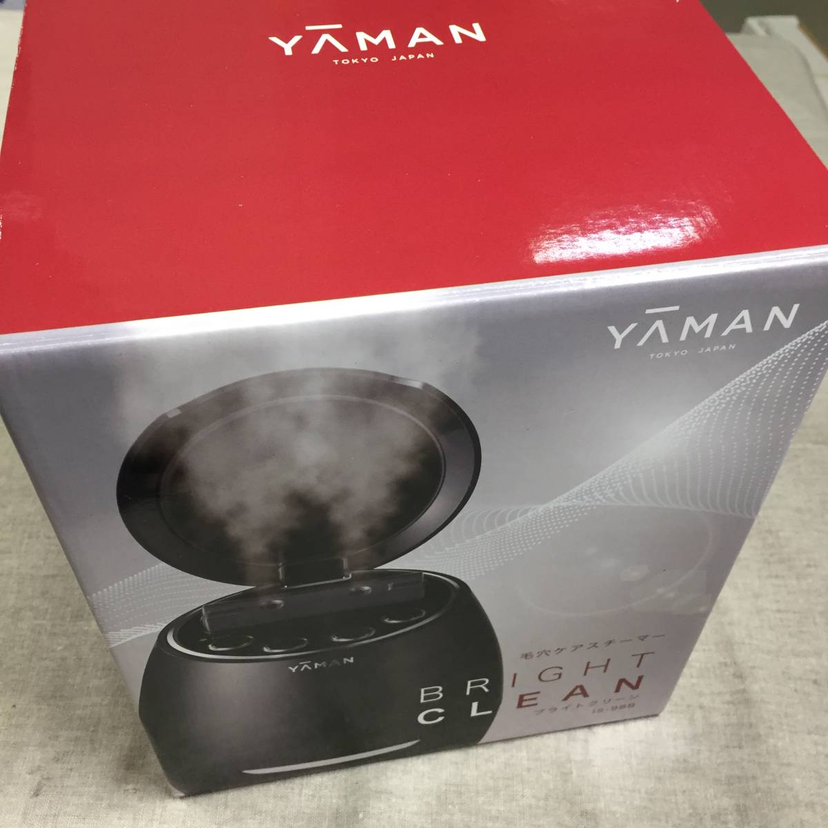 現状品 ヤーマン IS-98B 毛穴ケアスチーマー ブライトクリーン