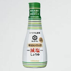 未使用 新品 味わいリッチ減塩しょうゆ いつでも新鮮 J-XM 200ml×3個