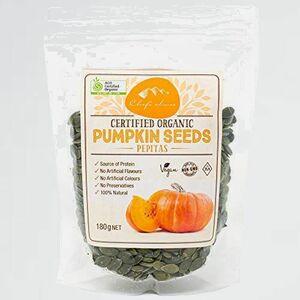 好評 新品 オ-ガニックパンプキンシ-ド シェフズチョイス 1-7K 有機かぼちゃの種 (180g1袋) Certified Organic Pumpkin Seed Pepitas