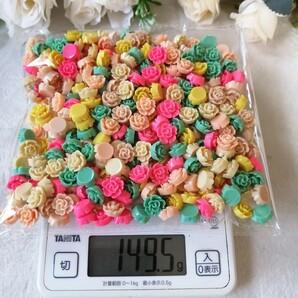 薔薇 デコパーツ プラパーツ ハンドメイド 材料 手作り パーツ バラ DF1