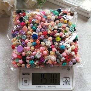 デコパーツ プラパーツ ハンドメイド 材料 手作り パーツ バラ 薔薇 52