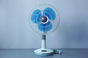 National/ナショナル 30LB 30cm AC 扇風機 中古動作品 [松下電器/MATSUSHITA][Panasonic/パナソニック][追加画像有]