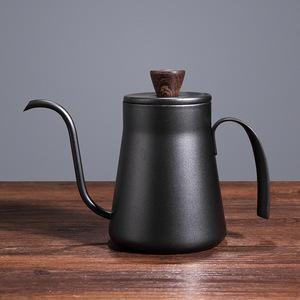400mlコーヒードリッパー コーヒーポット ステンレス鋼 蓋付き