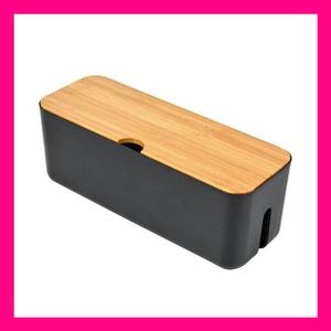 ケーブル収納ボックス タップ 配線隠し カバー コンセント 収納 ブラック