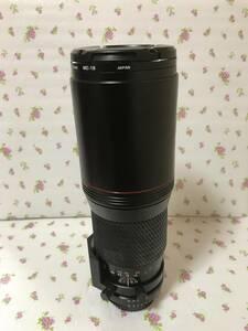 大望遠 ニコン NIKON TIKINA 400mm f5・6 SD AIーS フード内藏