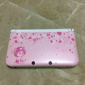 任天堂3DS LL チョッパーピンク