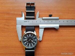 ◆送料無料◆パイロットスタイル時計 アラビア数字 ステンレス鋼 ストラップ クォーツ レロジオ masculino 腕時計 MNB525