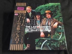 特価スタート!Empress Valley ★ Cream - クリームの素晴らしき日々「The Last Goodbye:The Climaxx」特別プロモボックス!プレス6CD+DVD