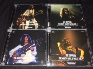 Moon Child ★ Led Zeppelin -「The Mighty Arms Of Atlas Vol.1~Vol.4」セット!プレス12CD