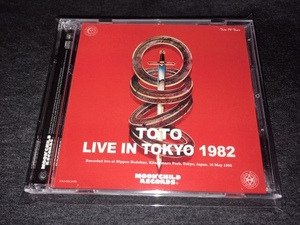 Moon Child ★ Toto -「Live In Tokyo 1982」プレス2CD