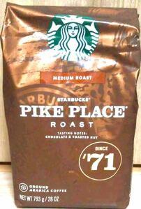 STARBUCKS COFFEEパイクプレイス ロースト 793g