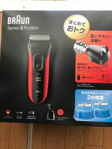 BRAUN シリーズ3 メンズシェーバー 洗浄器モデル 3250CC-R