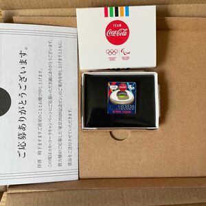 東京オリンピック2020 コカ・コーラ記念ピンバッジ