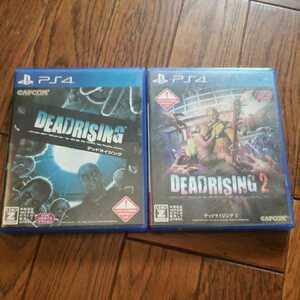 中古/PS4ソフト デッドライジング1、2 2本セット