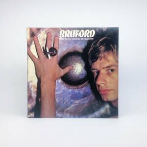[LP] '78米Orig / Bruford / Feels Good To Me / Polydor / PD-1-6149 / Prog Rock / Jazz-Rock / Fusion