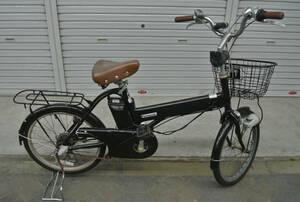 ★ 1円~【Panasonic】※ 電動自転車 内3速 20インチ 黒色 中古電動自転車 現状車 走行未確認