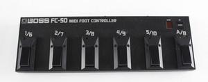 """【中古・現状品】BOSS FC-50 MIDI FOOT CONTROLLER ボス ミディ フットコントローラー MIDIフットコントローラー【通電のみ確認】 """""""