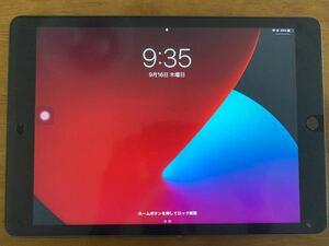 iPad第8世代 128GB スペースグレー Wi-Fiモデル フィルム貼付済