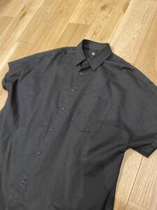 Ground Y Dolman Short Sleeve/BLACK